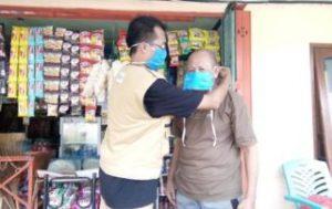 Galang Kemitraan, KPSPAMS Ds Gondang Lakukan Gerakan Pakai Masker