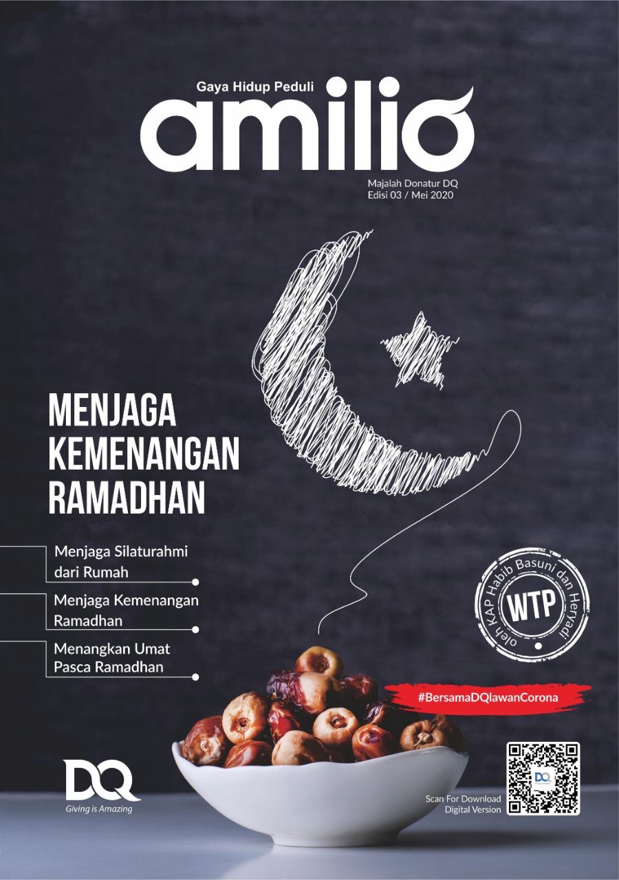 Cover Majalah Amilio _MEI 2020