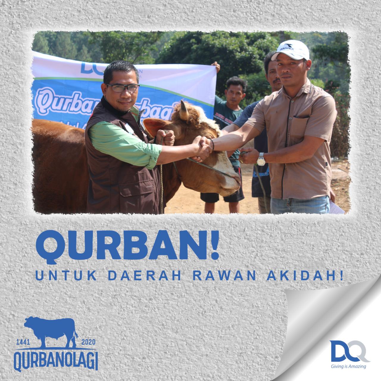 Kurban Untuk daerah RawKurban Untuk daerah Rawan Akidahan Akidah