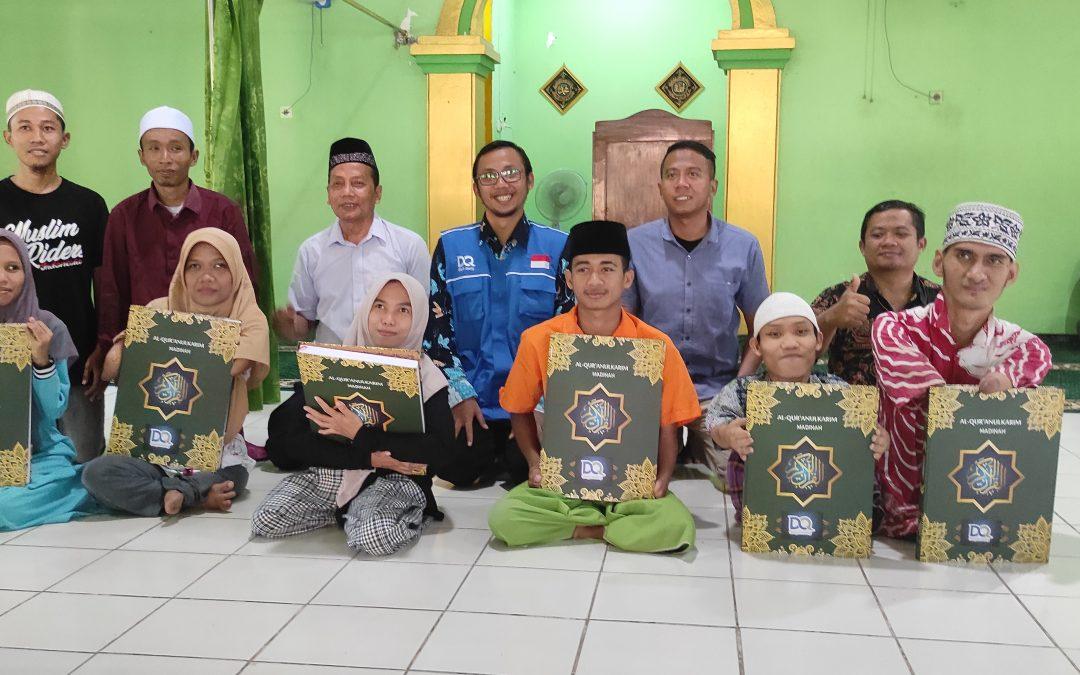 DQ Berbagi Keberkahan Al Qur'an dengan Anak-Anak Tuna Daksa Di Bangil