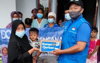 DQ Bantu Warga Sekitar Semeru Bangkit Bari Bencana Lahar Dingin