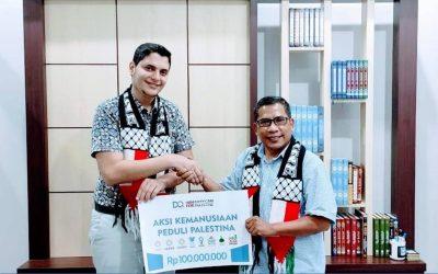 Lagi, DQ Berikan Bantuan Kemanusiaan Untuk Palestina