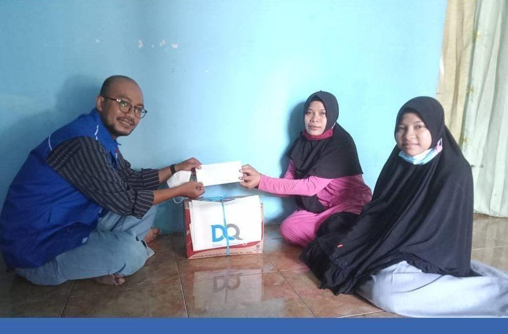 Bantuan Paket Kebutuhan Santri Yatim Dhuafa Penghafal Al-Quran Terdampak Covid-19
