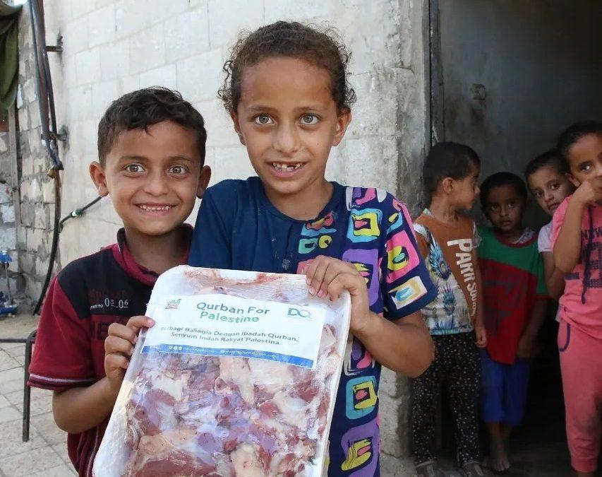 Amanah Qurban untuk Warga Palestina
