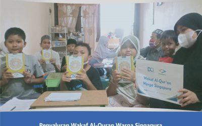 Penyaluran Sedekah Al-Qur'an ke TPQ As Sunnah dan TPQ Baitul Qur'ani di Semarang