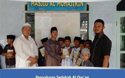 DQ Salurkan Sedekah Al-Qur'an di Kampung Qur'an Jember