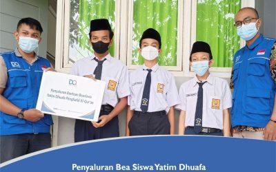 Penyaluran Beasiswa Santri Yatim Dhuafa DAFI Bulan September